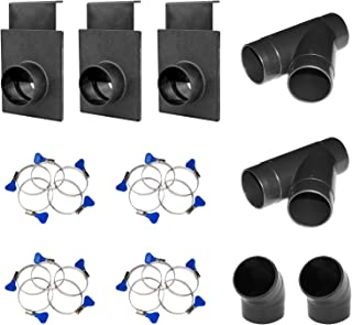 "POWERTEC 70200 2-1/2"" Three-Machine Dust Collection Kit"