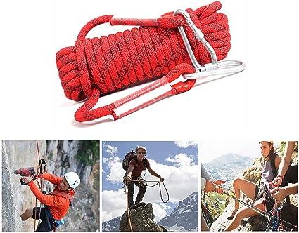 Cuerdas aéreas, 10m 20m Cuerda profesional de descenso Con ...