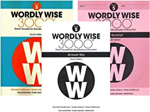 Wordly Wise 3000® 4th Edition Grade 5 SET -- Student Book, Test Booklet and Answer Key (Direct Academic Vocabulary Instruction)