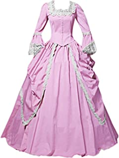 Womens Lace Marie Antoinette Masked Ball Victorian Costume Dress