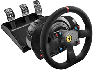 Thrustmaster T300 Ferrari Integral Racing Wheel Alcantara Edition レーシング ホイール [並行輸入品]