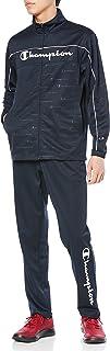 [チャンピオン] ジャケット&パンツ ジャージ セットアップ トレーニングスーツ 速乾 スクリプトロゴ スポーツウェア トレーニングウェア C3-SSW02 メンズ
