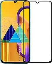 واقي شاشة لهاتف Samsung Galaxy M30s من الزجاج المقوى واقي شاشة من الحافة إلى الحافة وغوريلا لسامسونج جالاكسي M30s - أسود من Nice.Store.UAE