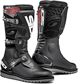 Sidi Trial Zero.1 Off Road Motorcycle Boots Black US11/EU45 (More Size Options)