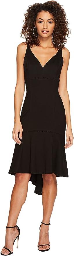 Adelyn Rae Izabela High-Low Midi Dress