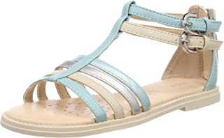Geox Karly Girl, Sandales Bout ouvert Fille