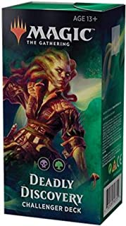 Magic 2019 Challenger Deck: Deadly Discovery - 75 Cards, Including Overgown Tomb!