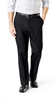 Men's Classic Fit Signature Khaki Lux Cotton Stretch Pants