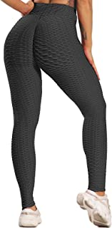 FITTOO Leggings Push Up Mujer Mallas Pantalones Deportivos Alta Cintura Elásticos Yoga Fitness