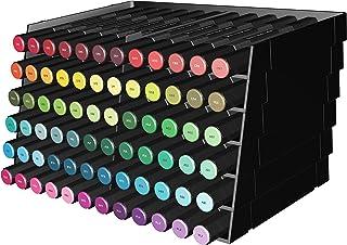 Spectre Noir Marqueur Rangement Bacs 6 Pack-Noir