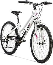 "AFX Bicicleta MTB Junior 24"" Rohan, Color blanco"