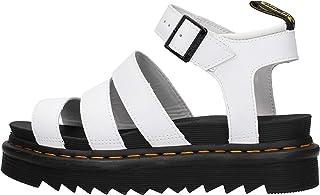 sandales - nu pieds dr martens blaire white 40