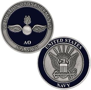 U.S. Navy Aviation Ordnanceman Challenge Coin