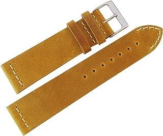 ColaReb 20mm Venezia Ocher Leather Watch Strap