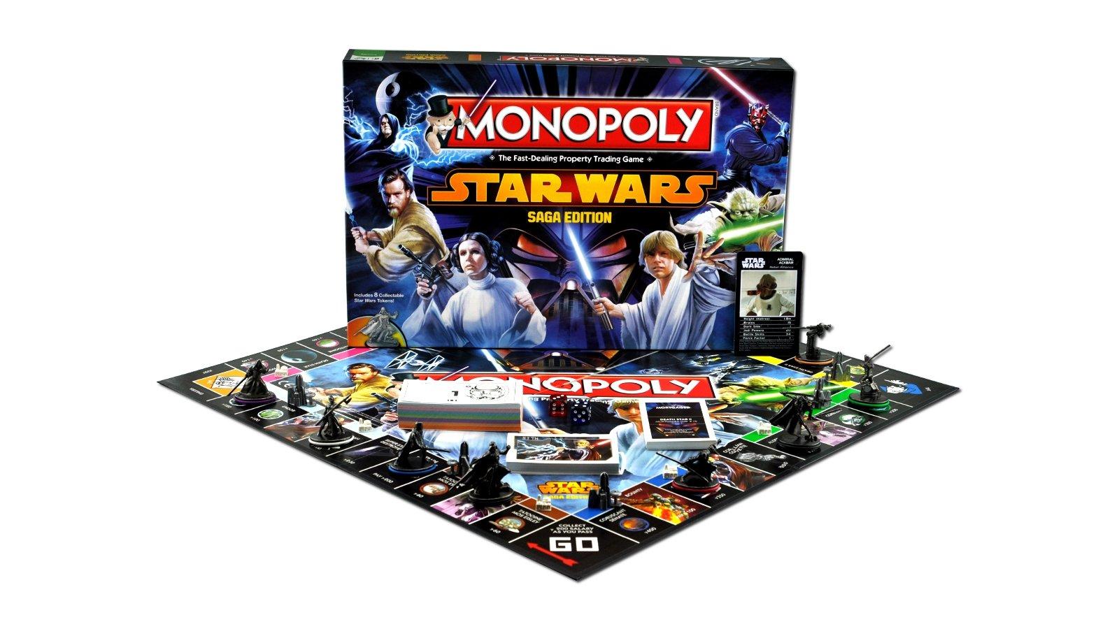 Monopoly - Juego de Mesa Star Wars, de 2 a 6 Jugadores (Winning Moves 21555) (versión en inglés): Amazon.es: Juguetes y juegos