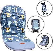 Gadbey® Funda universal para cochecito, colchoneta para cochecito universal con reposapiés, fabricada en la UE, para silla de paseo universal, reversible y unisex