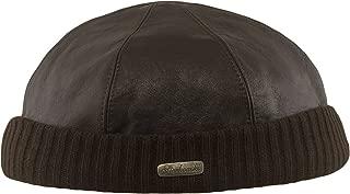 Docker Leon Beanie Leather Cap