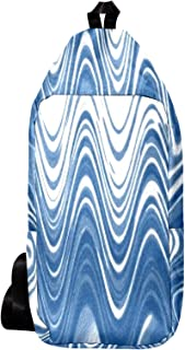EZIOLY Mochila de hombro con forma de árbol corrugado con forma de corona de hombro bandolera bolsa de viaje senderismo mochila para hombres y mujeres