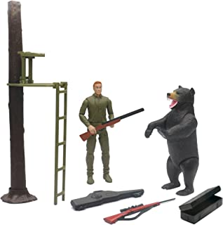 New Ray Wildlife Hunter with Tree Stand and Bear
