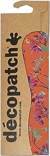 Decopatch Paper Pack Tropical Floral Orange, Set of 3, Orange