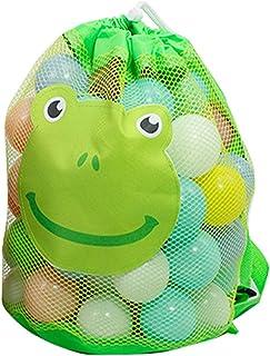 Dreamseeker Beach Toy Bag, Outdoor Kid's Toy Storage Bag, Kid Backpack, Large Foldable Mesh Bag, Sundries Bag