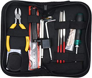 Timiy Guitar Repair Kit, Set of 13 Pcs Guitar Maintenance Tools