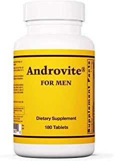 Sponsored Ad - Optimox Androvite for Men - Multivitamin and Multimineral - 180 Tablets