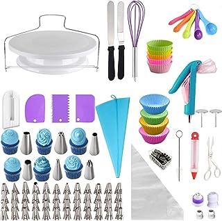 QAQGEAR Paquet de 4 tapis de cuisson en silicone antiadhésifs, tapis de pâtisserie en macaron, avec brosse en silicone et ...