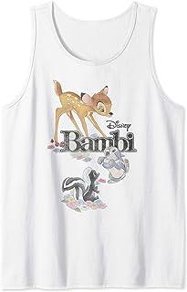 Disney Bambi Thumper & Flower Logo Débardeur