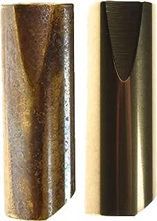 Rock Slide Joey Landreth Signature Polished & Aged Brass Slide (2-Pack Bundle)