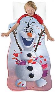 Blankie Tails | Disney Frozen Wearable Blanket - Frozen Disney Movie Double Sided Super Soft and Cozy Disney Blanket Minky...