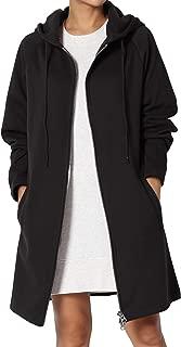 Women's Hoodie Oversized Zip Up Long Fleece Sweat Jacket...