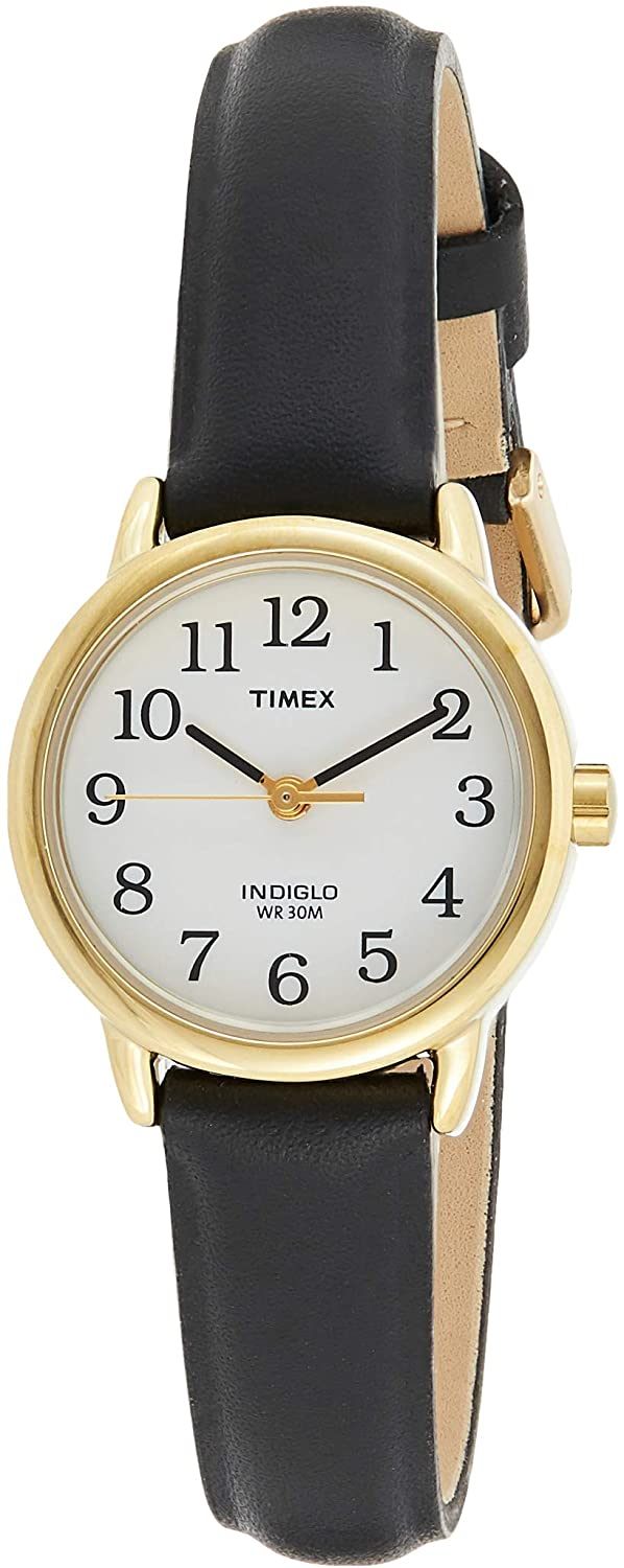 Timex Women's Easy Reader 25 mm Leather Strap Watch