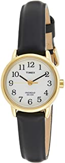 Timex Womens Quartz Watch Watch Watch Analog Display And Leather Strap - T20433