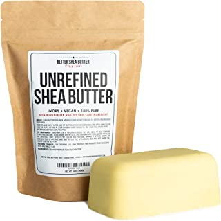 Unrefined African Shea Butter – Ivory, 100% Pure & Raw – Moisturizing and..