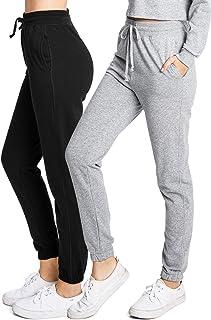 Ambiance Apparel Women's Juniors Slim Fit Jogger Sweatpants