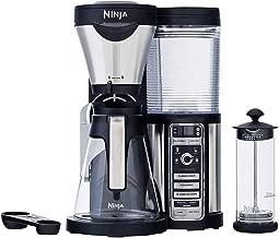 Ninja Coffee Bar with Glass Carafe and Auto-iQ One & Hot & Cold 18 oz. Insulated Tumbler - CF082 (Renewed)
