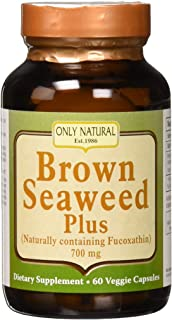 Only Natural Brown Seaweed Plus, 700mg (60 Veggie Caps)