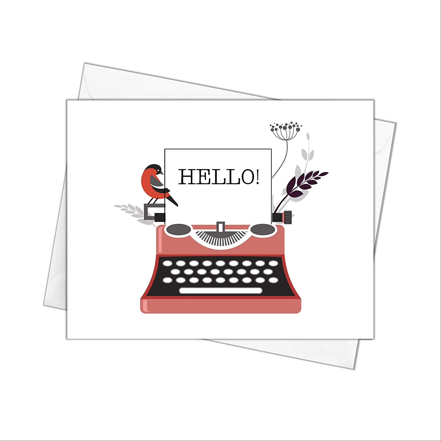 Typewriter Note Cards with Stationery Hel Ranking TOP10 Envelopes
