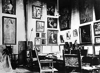 Gertrude Stein (1874-1946) Namerican Writer Interior Of SteinS Studio At 27 Rue De Fleurus In Paris Photograph C1915 Poste...