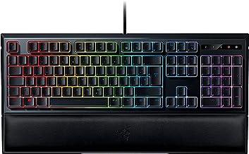 Razer Ornata Chroma - Gaming Tastatur mit mecha-membranen Hybrid-Schaltern (Ergonomische Handballenablage, voll programmie...