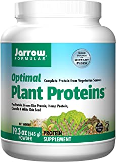 Jarrow Formulas Optimal Plant Proteins, Supports Gastroinestinal Health, 545 g
