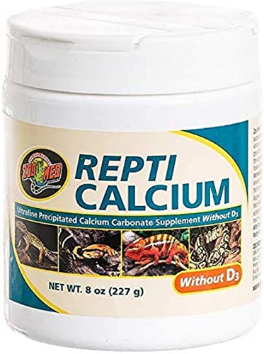 Zoo Med Repti Calcium sans D3 Hygiène pour Reptile 227 g