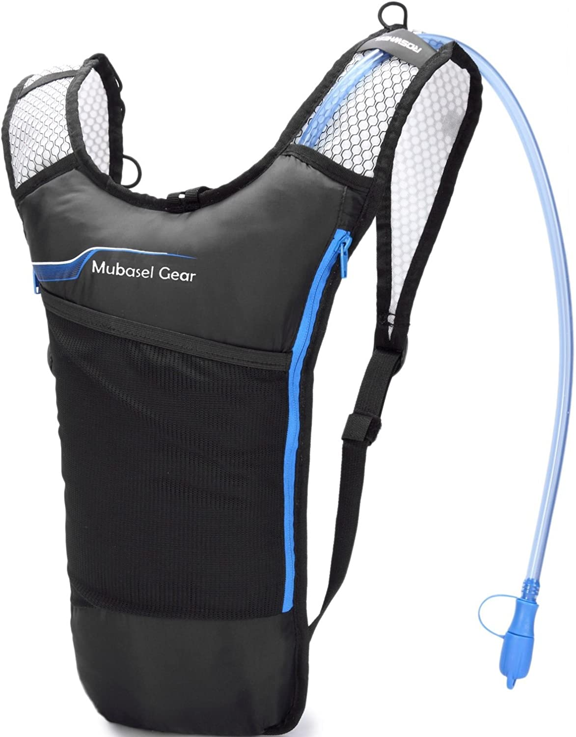 4 years warranty Mubasel Gear Hydration Backpack Pack with Bladder BPA 2L - Free Inexpensive