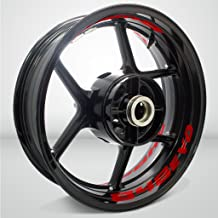 Gloss Red Motorcycle Inner Rim Tape Sticker Decal for Ducati 848 EVO