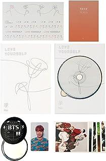 BTS 5th Mini Album - LOVE YOURSELF 轉 HER [ V ver. ] CD + Photobook + Mini Book + Photocard + Sticker Pack + FREE GIFT / K-POP Sealed