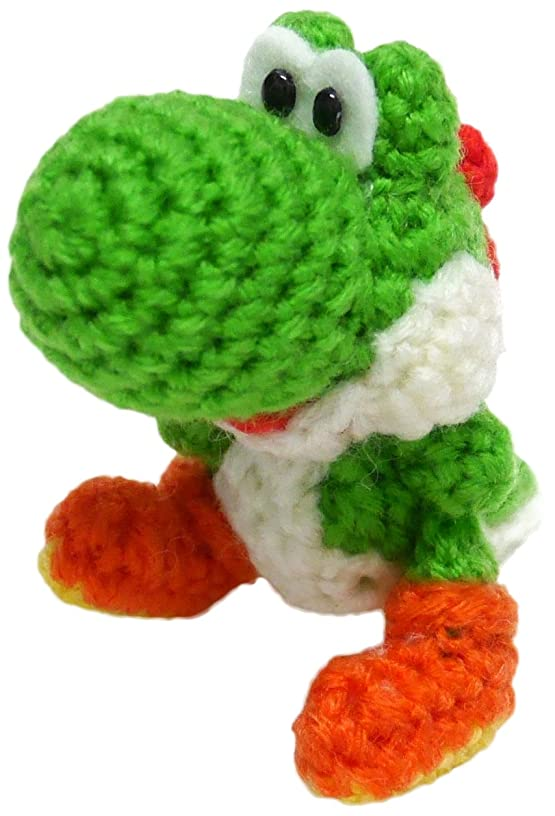 Hamanaka Knitted kit Yoshi wool World Yoshi Small (A green) H306-165-1