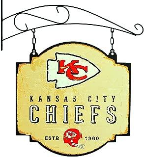 Winning Streak NFL Kansas City Chiefs Tavern Sign