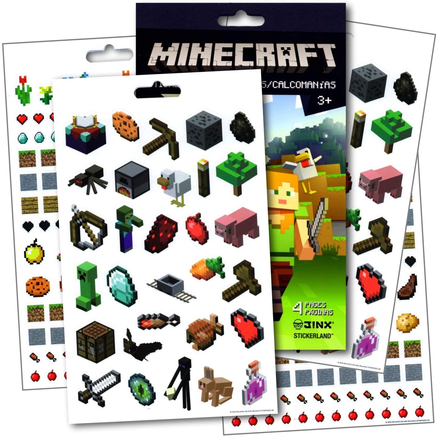 Minecraft Stickers ~ Over 295 Fun Colorful
