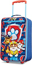 American Tourister Kids' Paw Patrol Softside Upright 18, Red/Blue